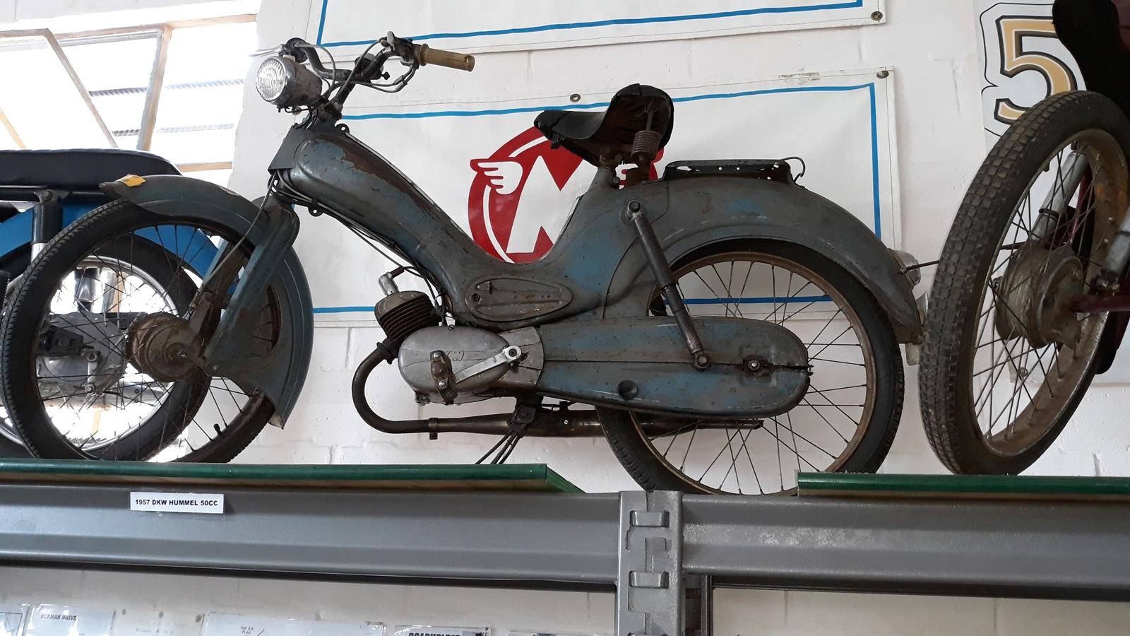 1957 DKW Hummel 50cc moped